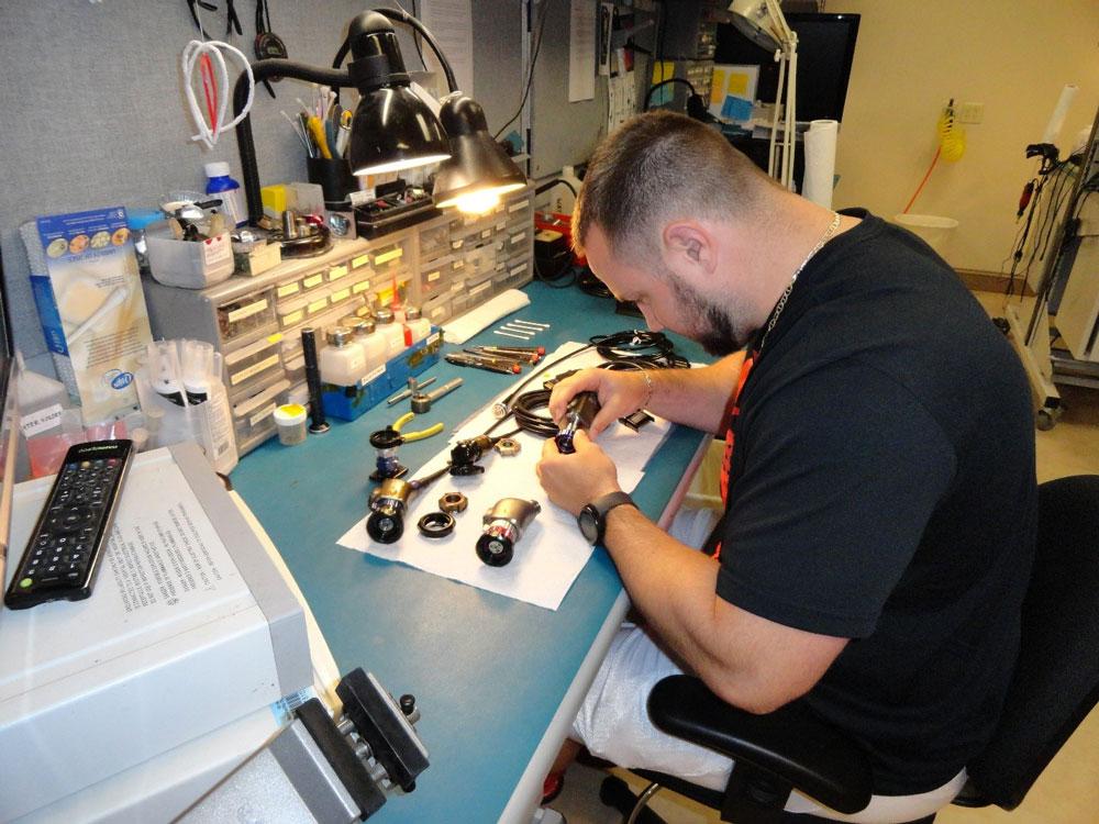Repair Work Order Benjamin Biomedical